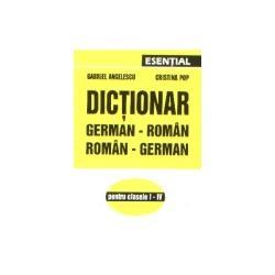 Dictionar german-roman (clasele I-IV)